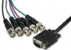 10m VGA Male to 5x BNC Cable